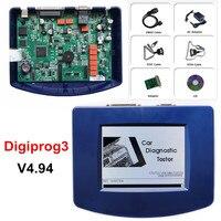 Neueste V 4 94 Digiprog3 obd version mit OBD2 ST01 ST04 Kabel Digiprog 3 Kilometerzähler Werkzeug + Volle Software unterstützung multi-sprache