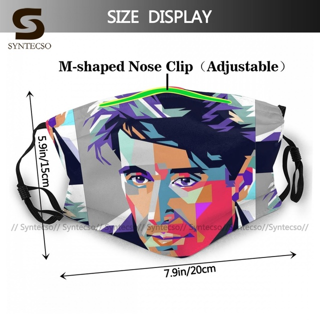 Swag Dust Protection Al Pacino Five Face Mask Fun Adult Polyester Bike Facial Mouth Mask With Filters 1