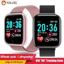 Montre connectée D20 Pro pour hommes femmes, moniteur de pression artérielle, moniteur d'activité physique, Bluetooth, pour Android IOS PK P8, 2021