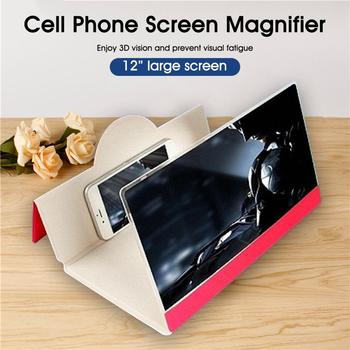 12'' Phone Screen Magnifier Foldable 3D Smartphones Screen Amplifier Anti-radiation Screen Enlarger for Movies and Videos 1