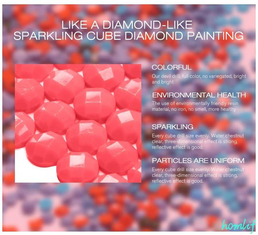 เย็บปักถักร้อยเพชรใต้น้ำโลกปลาภาพวาดผ้าใบเต็มรูปแบบรอบสว่านเพชรจิตรกรรมชุด Scenic Diamond Mosaic