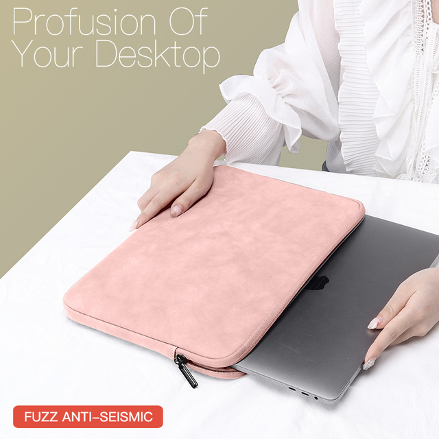 Laptop Sleeve Case 13 14 15.4 15.6 Inch For HP DELL Notebook bag Carrying Bag Macbook Air Pro 13.3 Shockproof Case for Men Women 1