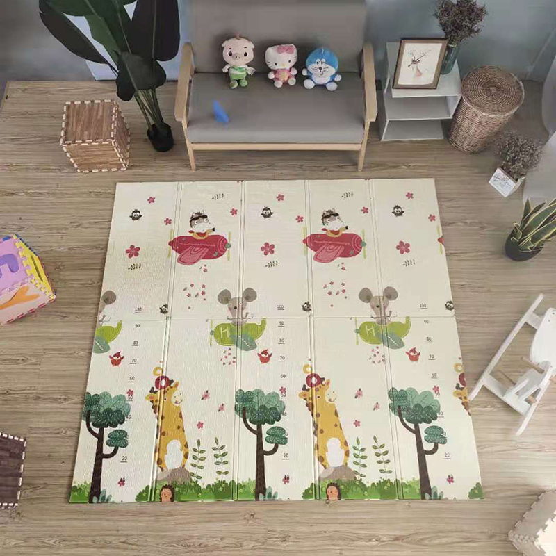 XPE Baby Mat Play Mat 1CM Thickness Children Carpet Baby Playmate Foldable Anti-skid Carpet Kids Baby Puzzle Game Pad Toys Gift