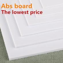 Wiking abs Толщина 200 мм x 250 Стирол листы Белые Новые больше