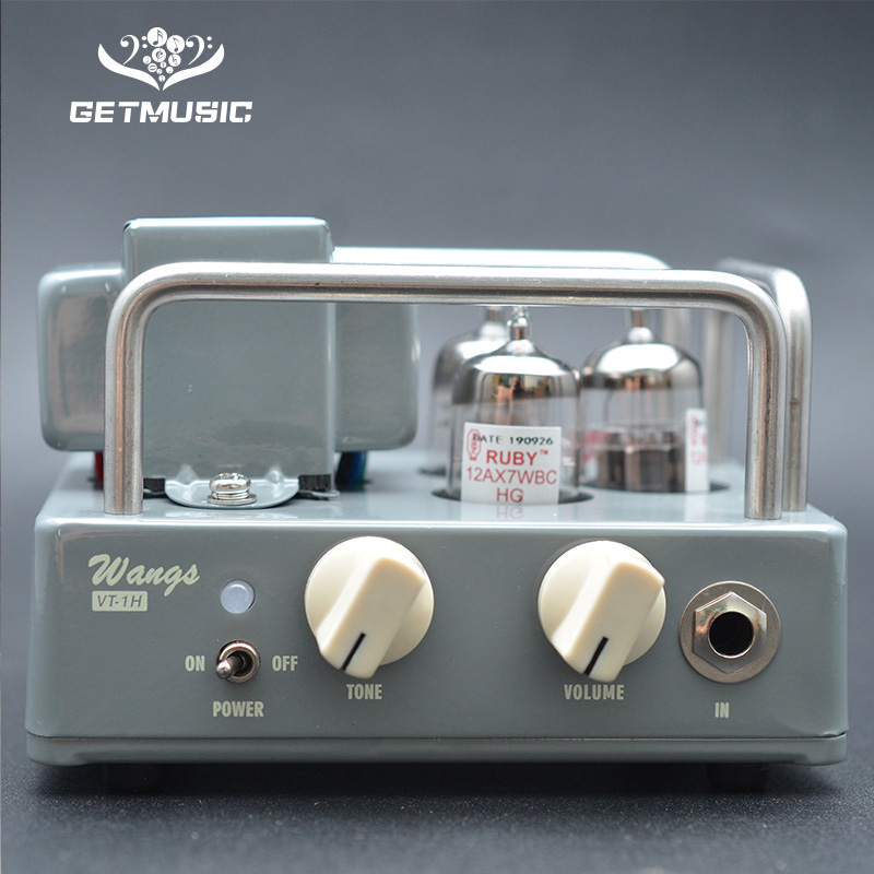 BIYANG VT-1H Compact Powerful 1 Watt All Tube Guitar Amplifier Amp Head With Volume & Tone Controls