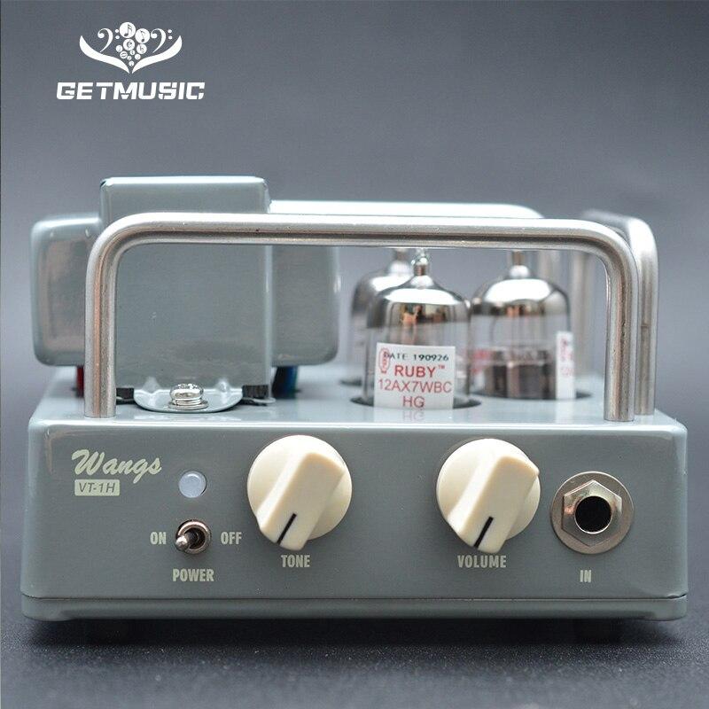 BIYANG VT-1H compacte puissante 1 Watt toute la tête d'amplificateur de guitare à lampes avec contrôles de Volume et de tonalité