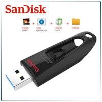 Sandisk pen drive usb-stick usb 3.0 san disk 64gb usb stick 3 0 32gb u disk cz48 usb schlüssel 128gb extreme flashdisk