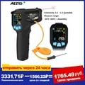 MESTEK -50-800 Degree Digital Thermometer Humidity Meter Infrared Thermometer Hygrometer Temperature Humidity Meter Pyrometer