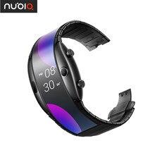 Zte nubia alpha versão chinesa relógio de pulso celular snapdragon 8909w banda do telefone móvel superfície curvada tela 8gb rom