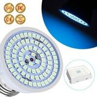 E14 UV Germicidal Light E27 UVC LED Sterilizer Lamp GU10 Bactericidal Lamp MR16 Ultraviolet Disinfection Bulb Virus Prevention