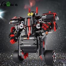 Баланс Программирование умный робот модель игрушки Платина составное здание Конструкторы для раннего образования обучающие игрушки динозавра