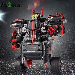 Баланс Программирование умный робот модель игрушки Платина составное здание Конструкторы для раннего образования обучающие игрушки диноз...