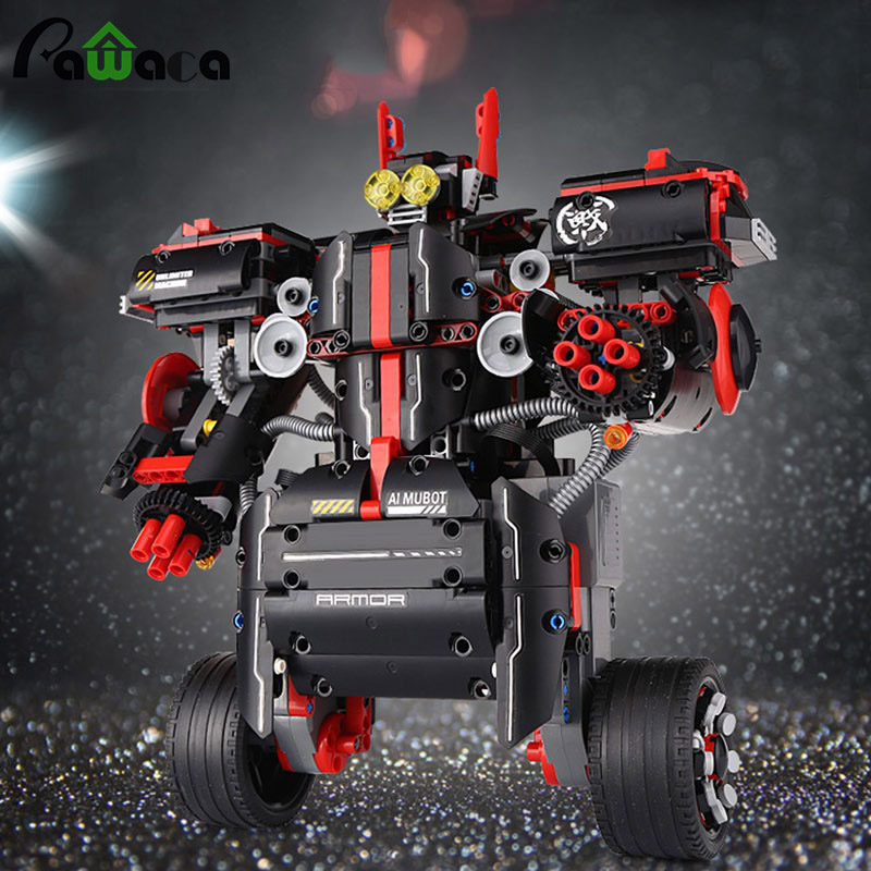 Balance Programming Intelligent Robot Model Toy Platinum Assembled Building Blocks Early Education Teaching Aids Dinosaur Toys