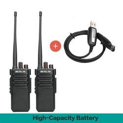 Пара мощная портативная рация Водонепроницаемая IP67 RETEVIS RT29 UHF (или VHF) дальняя двухсторонняя радио Удобная рация трансивер
