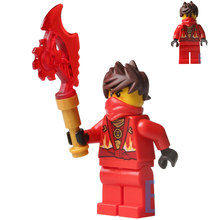 Single Sale Rebooted Kai Jay Cole Phantom Ninja Masters of Spinjitzu minifig Assemble Building Blocks Kids Children Toys Gifts(China)