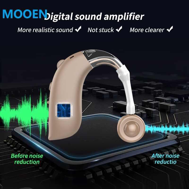 2020 Baru Murah Isi Ulang Alat Bantu Dengar Digital Sound Amplifier Alat Bantu Dengar Hearing Perangkat Dropshipping Alat Bantu Dengar Terbaik