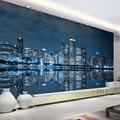 Фотообои на заказ  черные и белые  Нью-Йорк  ночное видение  городской стиль  для учебы  гостиной  дивана  ТВ фон  3D фото обои