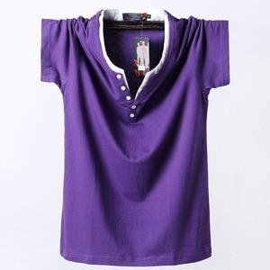 Image 1 - Plus Size 5XL 6XL 7XL 8XL Men Big Tall T shirt Short Sleeves Oversized T Shirt Cotton Male Large Top Tee Summer Fit T Shirt Men