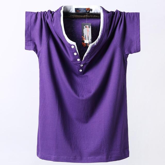 Plus Size 5XL 6XL 7XL 8XL Men Big Tall T shirt Short Sleeves Oversized T Shirt Cotton Male Large Top Tee Summer Fit T Shirt Men