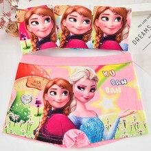 4Pcs/lot Baby Girls Cartoon Frozen Elsa Underpants Kids Underwear Cotton Panties Toddler Children Underwear 1-7years
