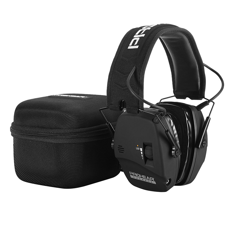 Image 5 - ZOHAN Electronic Shooting Ear Protection Sound Amplification Noise Reduction Ear Muffs Professional Hunting Ear Defender NRR22-in Ear Protector from Security & Protection