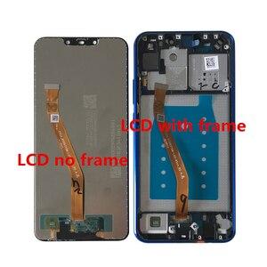 """Image 2 - Ban Đầu Axisinternational 6.3 """"Cho Huawei Nova 3i P Thông Minh + (P Smart Plus) INE LX1 L21 Màn Hình Hiển Thị LCD Khung Màn Hình Cảm Ứng Bộ Số Hóa"""