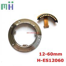 NEUE 12 60 H ES12060 Hinten Bajonett Ring Kontaktieren Flex Kabel Für Panasonic LEICA DG Vario  elmarit 12 60mm F 2,8 4 Power OIS