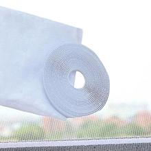1 sztuk nowe białe drzwi i okna gaza ekrany przeciw komarom DIY ekrany przeciw komarom Anti-Fly owady zasłony na okna z taśmą tanie tanio Okno Hook Loop Zapięcie Door Window Screens White 150cm x 130cm Polyester Support Wholesale Support Retail