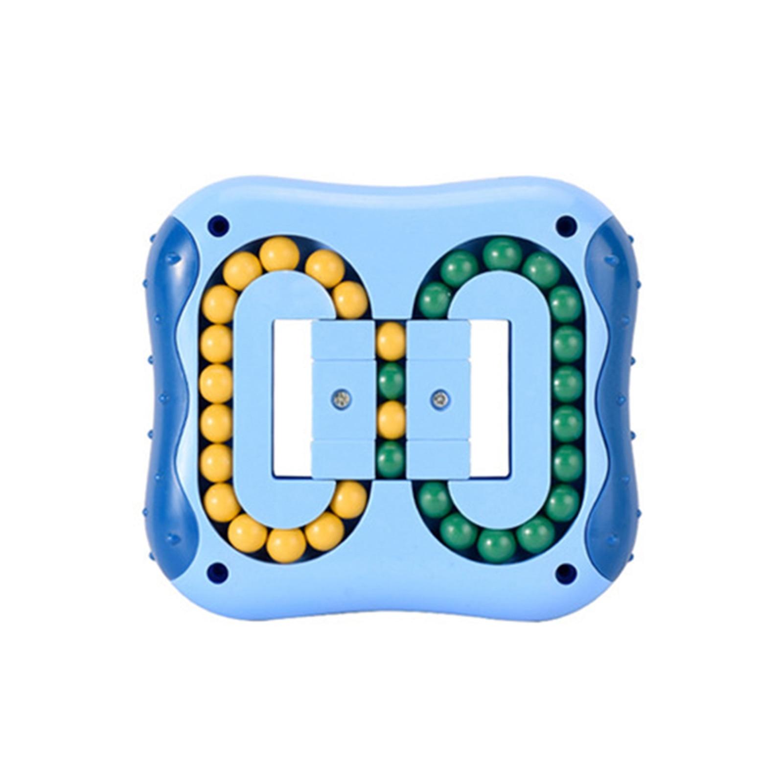 Вращающийся волшебный кубик для пальцев детский гироскоп для пальцев магический диск обучающая игрушка-кубик
