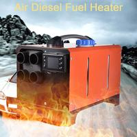 12V24V 5000W Car Heater LCD Monitor Air Diesels Fuel Heater Single Hole For Boats Bus Car Heater Parking Air Heater Set