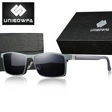 UNIEOWFA 2 в 1 магнит клип на Рецепт Солнцезащитные очки для мужчин поляризационные оптические градусов солнцезащитные очки оправа для мужчин близорукость очки