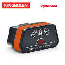 Vgate ICar2 Bluetooth/Wifi ELM327 OBD2 Code Reader Obdii Diagnostic Tool Voor Android/Ios/Pc Icar 2 elm 327 Auto Scanner
