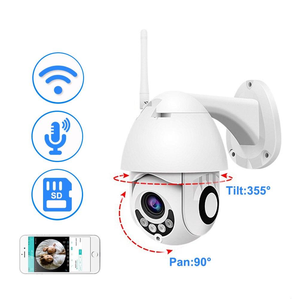 Neng WIFI Camera Outdoor PTZ IP Camera 1080p Speed Dome CCTV Security Cameras WIFI Exterior 2MP IR Home Surveilance