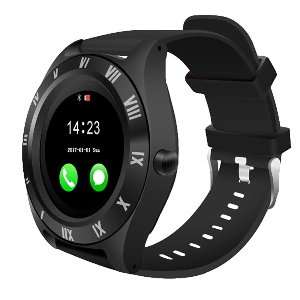 Large Round Screen Smartwatch SIM Card Slot Smart Bracelet Fitness Bluetooth Sports Watch Sleep Monitor Pedometer