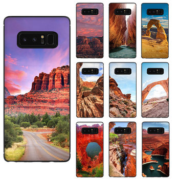American Grand Canyon Soft TPU phone cover case for Samsung S6 S7 S8 S9 S10 Plus S10e Note 10 8 9 M10 M20 M30 image