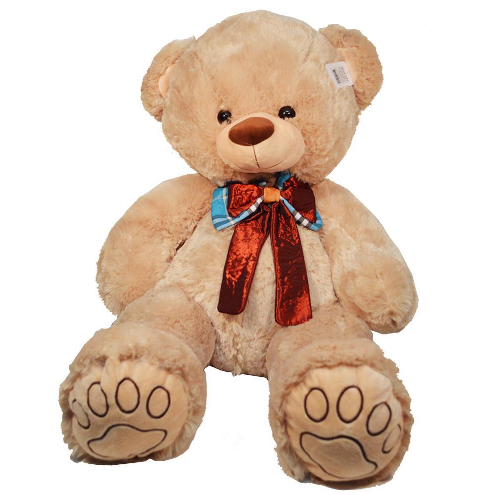 60cm géant rempli grands ours en peluche bébé jouets marron fête enfants cadeau d'anniversaire doux oreiller poupées en peluche teddy ty