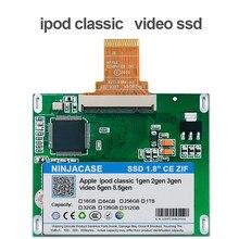 Novo 120 gb 240 gb 480g ssd para ipod clássico 7gen ipod vídeo 5th substituir mk4009gah mk6008gah mk8010gah mk8025gal ipod hdd disco rígido