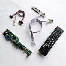 """Для B101XTN01/CLAA101WA01 WLED LVDS 40Pin Аудио HDMI VGA USB RF 10,"""" 1366*768 ноутбук ПК дисплей Контроллер привод карты DIY kit"""