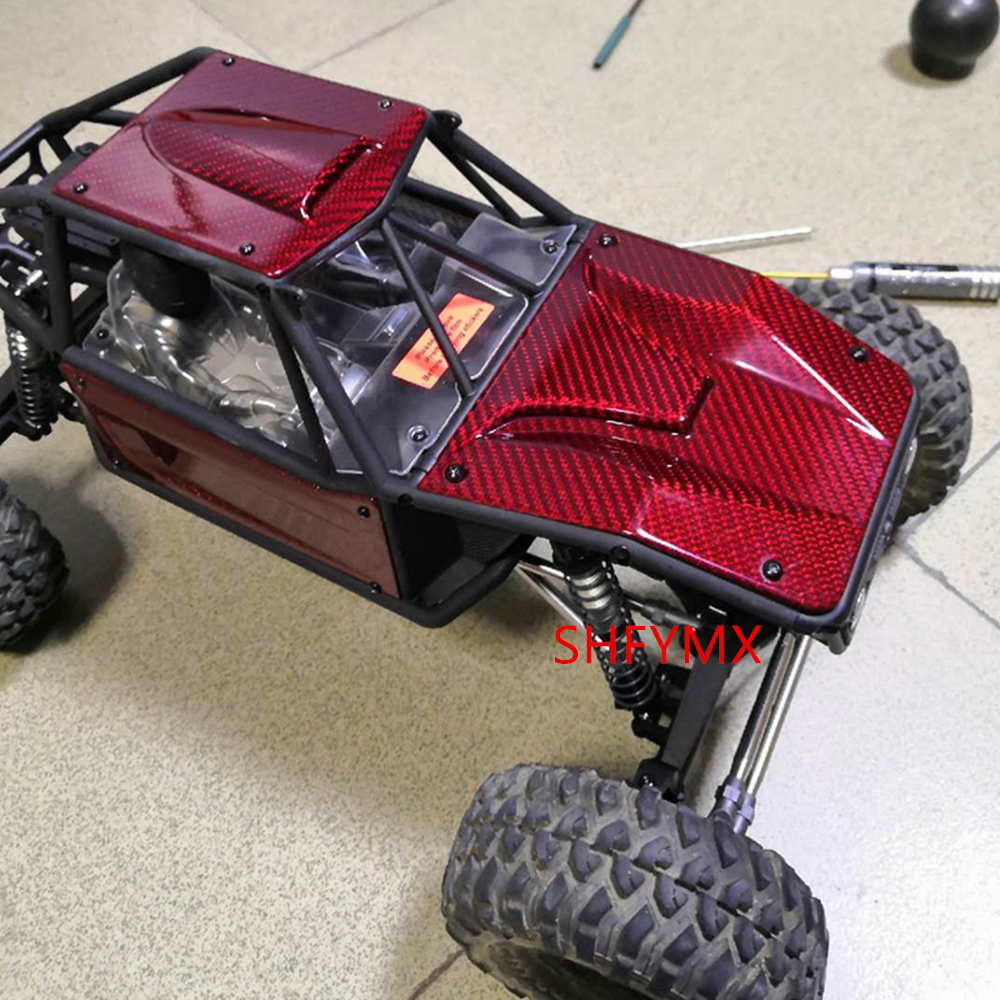 Carbon Fiber Body Shell Set For 1/10 Rc Crawler Axial Capra 1.9 UTB AXI03004 Option Upgrade Parts & Accessories