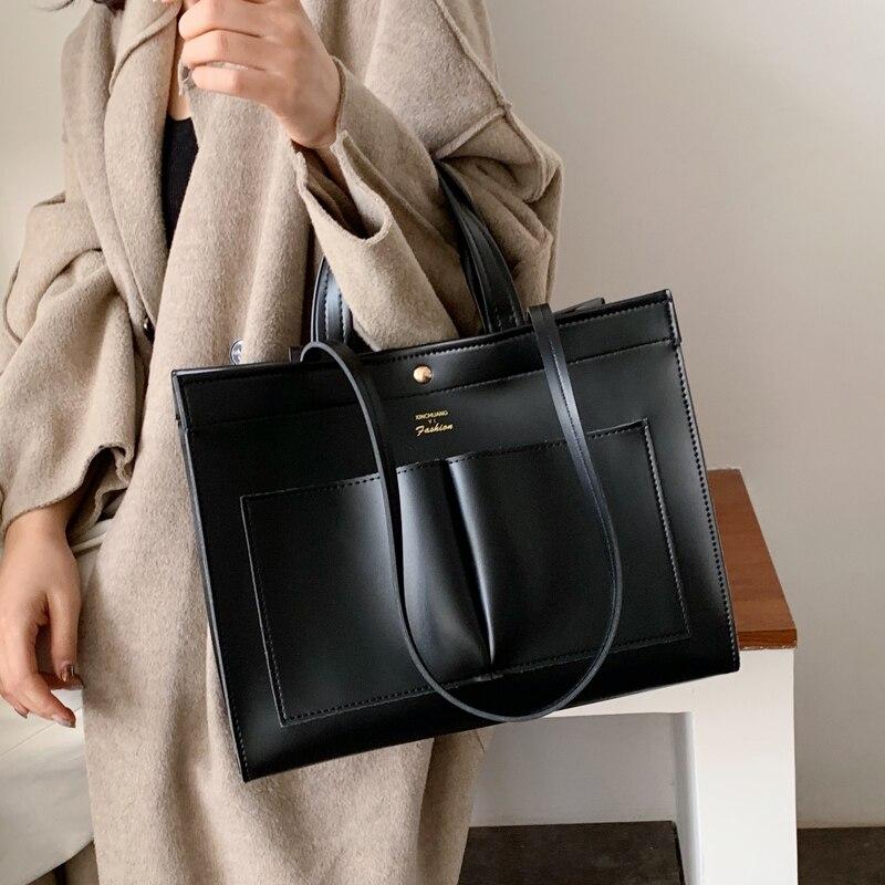 Large Capacity Women Pu Leather Handbags Messenger Bags High Quality Ladies Shoulder Bag Fashion Female Crossbody Tote Bags New