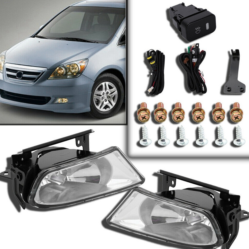 Fog Lights With Switch Bulb Left Right For Honda Odyssey 2005 2006 2007