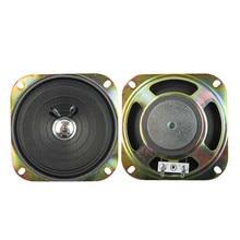 SOTAMIA 2Pcs 4 Inch Audio Portable Full Range DIY Speaker 8 Ohm 5 W Square Stereo Music Sound Speaker Home Theater Loudspeaker