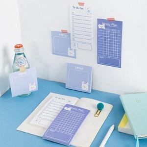 Sharkbang Kawaii Bear 50 Sheets Weekly Daily To Do List Memo Note Pads Message Paper Paperlaria Notepad School Stationery