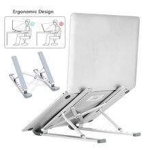 Laptop Stand Aluminum Adjustable Portable  Foldable Desktop Tablet Holder Desk Table Support Base Notebook Stand Holder for Macb