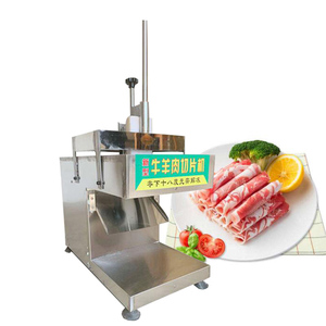 Máquina de corte comercial da carne do cortador de carne para o varejo