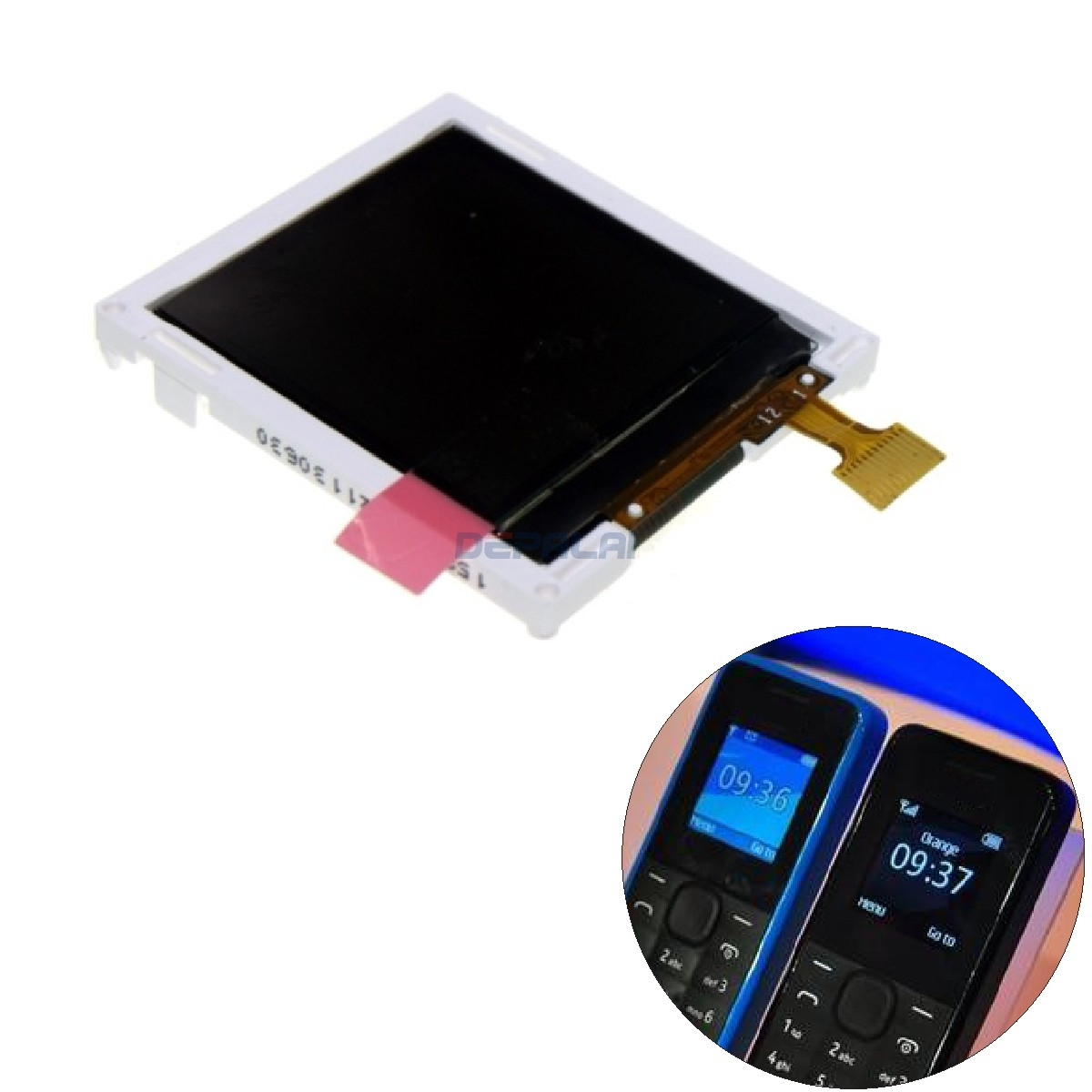 Replacement Repair LCD Display For Nokia 1050 N105 105 RM-908 RM-1134