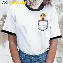 Graphic Tees Clothes Women Streetwear Tumblr Japanese One-Piece Plus-Size Ulzzang
