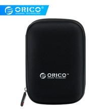 ORICO PHD-25 2,5 Inch HDD защиты сумка коробка для внешний жесткий диск для хранения Защитный чехол для HDD SSD черный/ синий/зеленый/фиолетовый