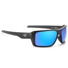 Kaenon marca nova polarizada óculos de sol dos homens do esporte reflexivo revestimento espelho lente uv400 com caso 0910