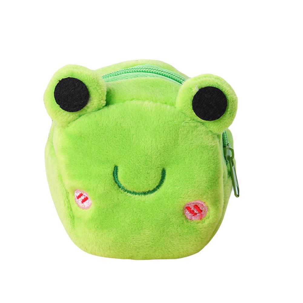 Portable Cute Plush Coin Purse Panda Animal Small Coin Purse Zipper Money Wallet Wholesale Kids Birthday Gift New